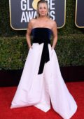 Kaley Cuoco attends the 76th Annual Golden Globe Awards held at The Beverly Hilton Hotel in Los Angeles, California