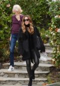 Kate Beckinsale steps out with her mother in Los Angeles