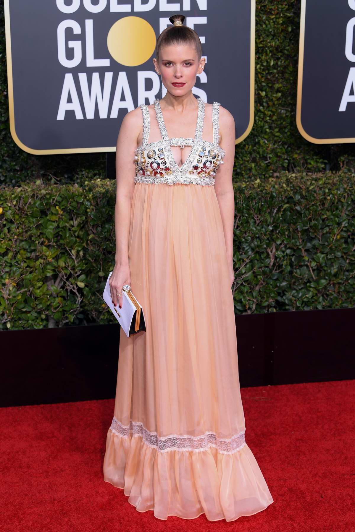 Kate Mara attends the 76th Annual Golden Globe Awards held at The Beverly Hilton Hotel in Los Angeles, California