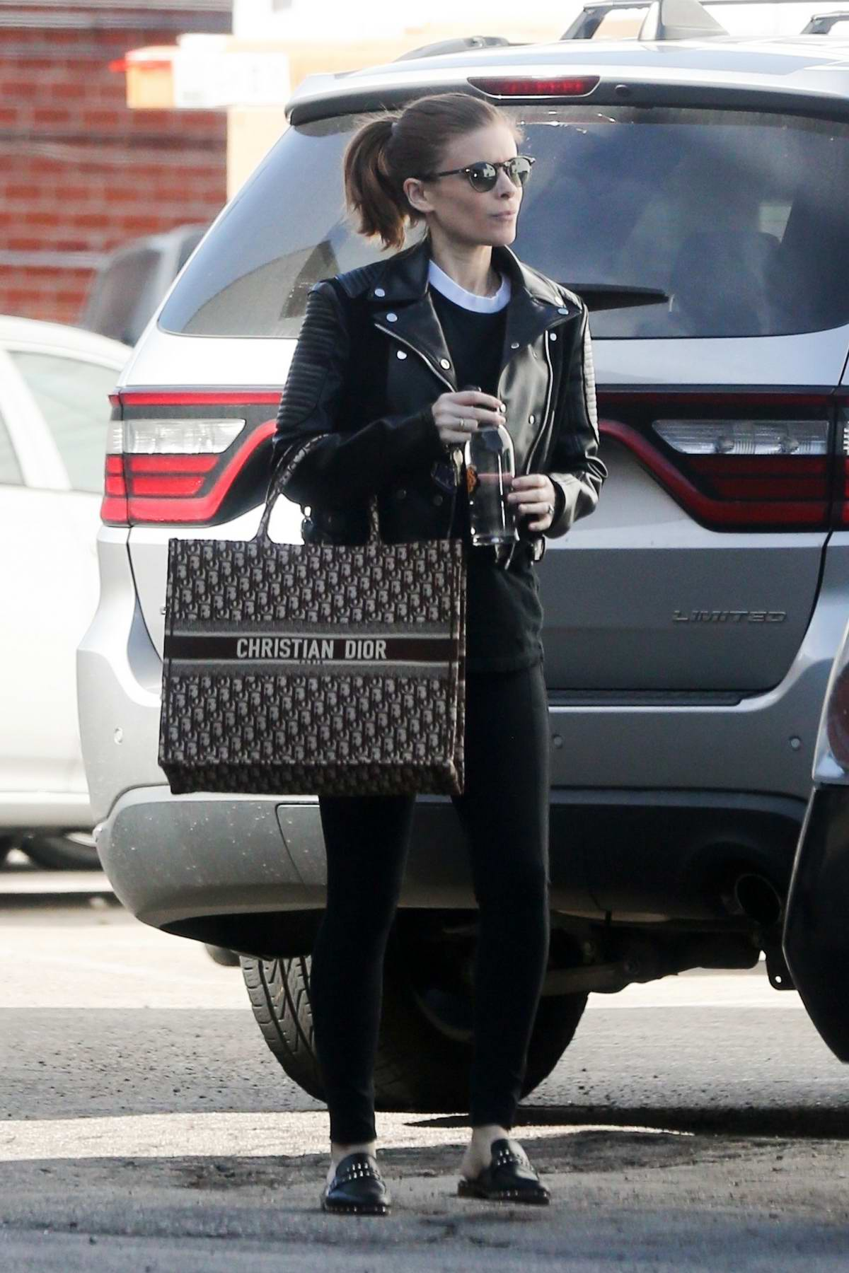 Kate Mara sports all black after hitting the gym in Los Angeles