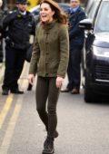 Kate Middleton visits King Henry's Walk Garden in London, UK