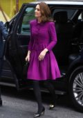 Kate Middleton visits the Royal Opera House in London, UK