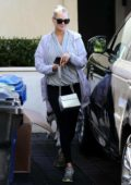 Kate Upton seen leaving after a workout session at her personal trainer's gym in Westwood, California