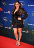 Kelly Brook attends Cirque du Soleil's Totem 10th Anniversary Premiere in London, UK