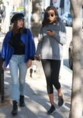 Kelly Gale steps out with a friend for some shopping in Beverly Hills, Los Angeles