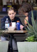 Kiernan Shipka enjoys lunch with a mystery guy outside Erewhon Market in Los Angeles