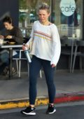 Kristen Bell seen leaving a pilates class in Los Feliz, California