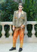 Kristen Stewart attends the Chanel Haute-Couture Spring/Summer 2019 Show during Paris Fashion Week in Paris, France