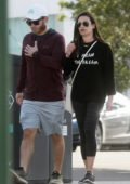Lea Michele and Zandy Reich enjoy the day as they step out for of shopping in Los Angeles