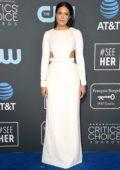 Mandy Moore attends the 24th Annual Critics' Choice Awards at Barker Hangar in Santa Monica, California