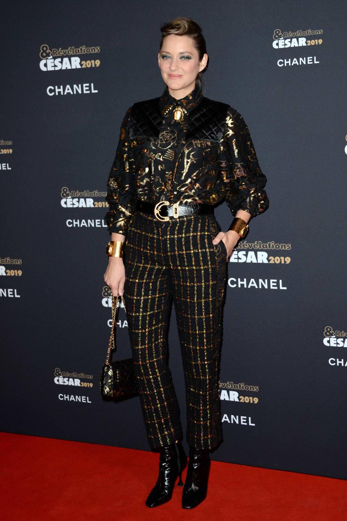 Marion Cotillard attends Cesar: Revelations 2019 at the Petit Palais in Paris, France