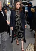 Megan Boone arrives for her appearance on the 'Today Show' in New York City