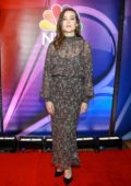 Megan Boone attends the NBC's New York Mid Season Press Junket in New York City