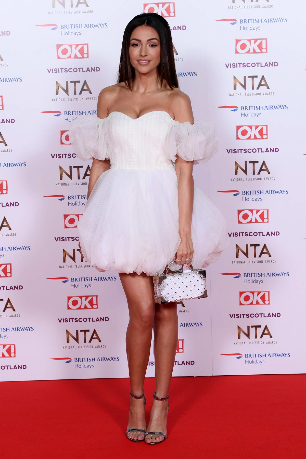Michelle Keegan attends 23rd National Television Awards in London, UK