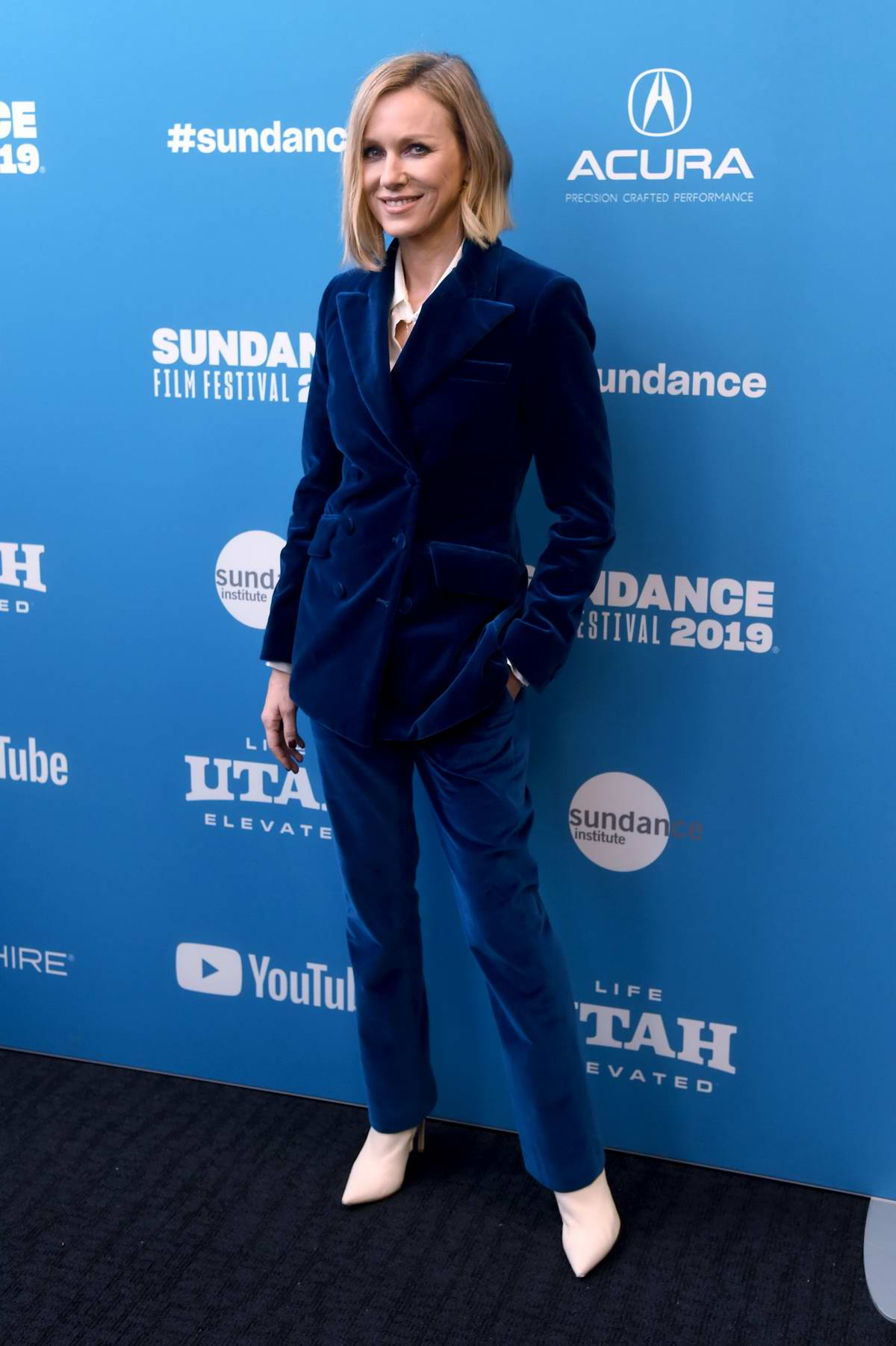 Naomi Watts attends The Wolf Hour Premiere during Sundance Film Festival 2019 in Park City, Utah