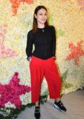 Olga Kurylenko attends the Schiaparelli Haute Couture Spring/Summer 2019/20 Show during Paris Fashion Week in Paris, France