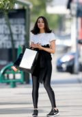 Olivia Culpo and Cara Santana have some fun while out shopping in Los Angeles
