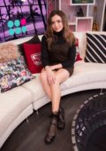 Peyton List visits the Young Hollywood Studio in Los Angeles