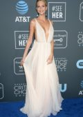 Poppy Delevingne attends the 24th Annual Critics' Choice Awards at Barker Hangar in Santa Monica, California