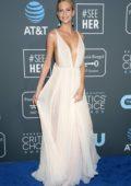 Poppy Delevingne attends the 24th Annual Critics' Choice Awards at Barker Hangar in Santa Monica, California