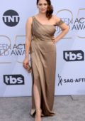 Rachel Bloom attends the 25th Annual Screen Actors Guild Awards (2019 SAG) at the Shrine Auditorium in Los Angeles