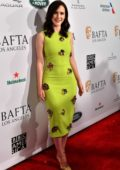 Rachel Brosnahan attends the 2019 BAFTA Tea Party at Four Seasons Hotel in Beverly Hills, California