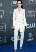 Rachel Brosnahan attends the 24th Annual Critics' Choice Awards at Barker Hangar in Santa Monica, California