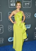 Rhea Seehorn attends the 24th Annual Critics' Choice Awards at Barker Hangar in Santa Monica, California