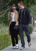 Rooney Mara and Joaquin Phoenix stepped out for a stroll in Los Angeles