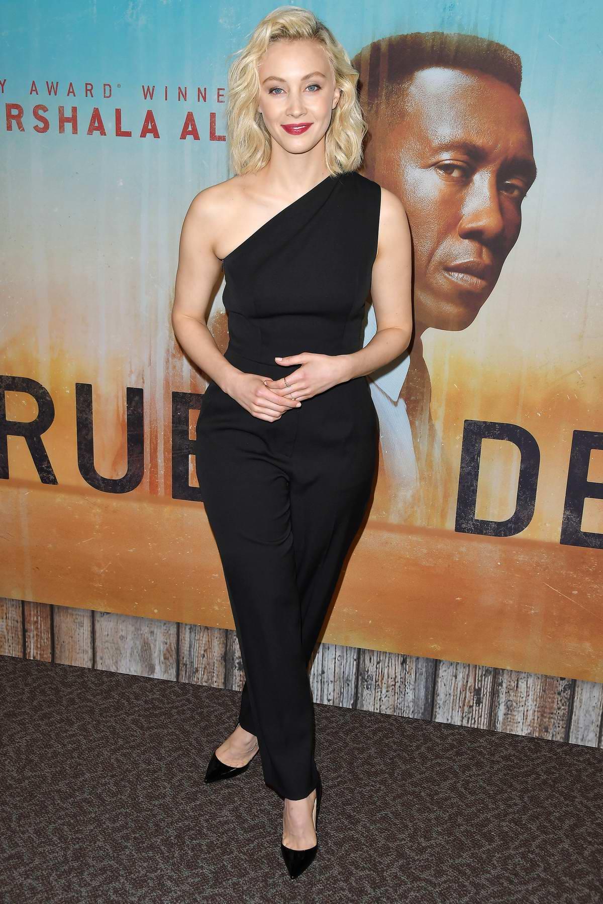 Sarah Gadon attends 'True Detective' Season 3 Premiere in Los Angeles