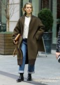 Sarah Paulson spotted as she leaves The Crosby Hotel in New York City