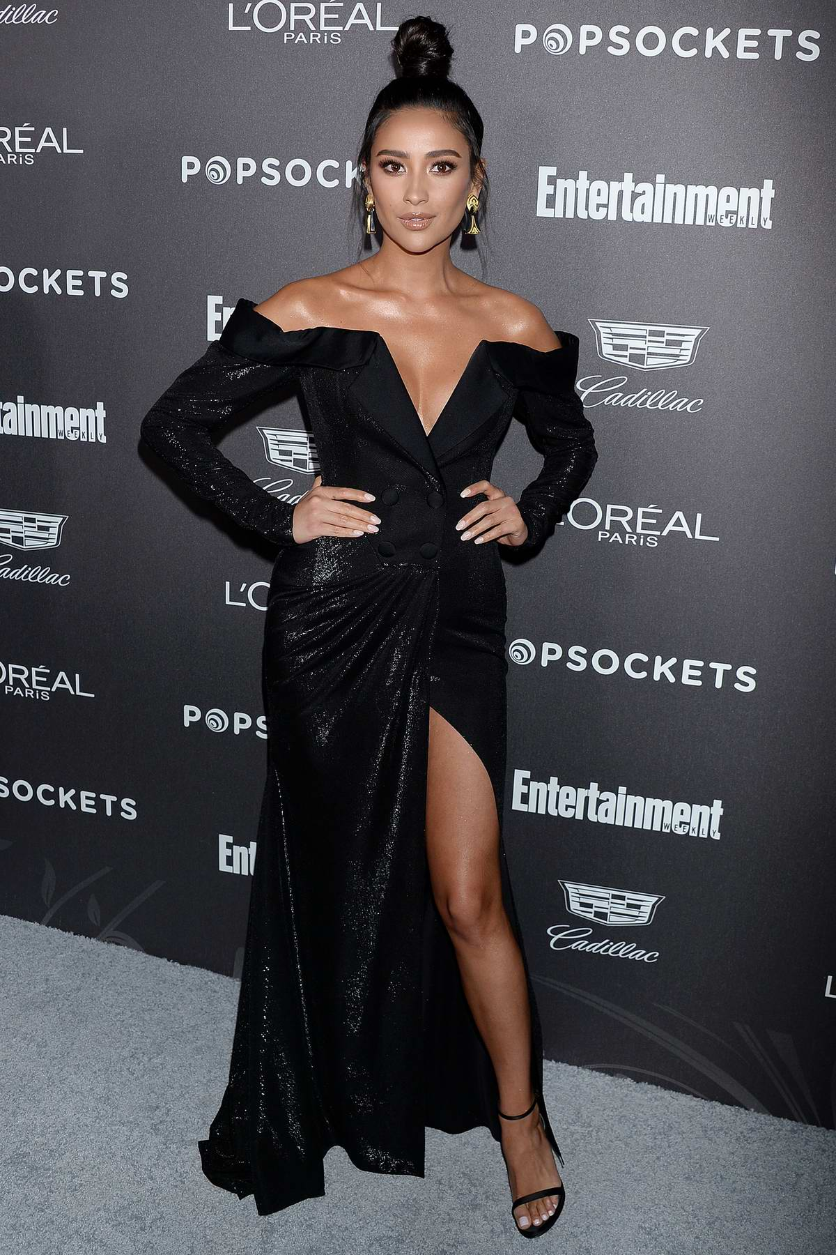 Shay Mitchell attends Entertainment Weekly Pre-SAG 2019 Party in Los Angeles