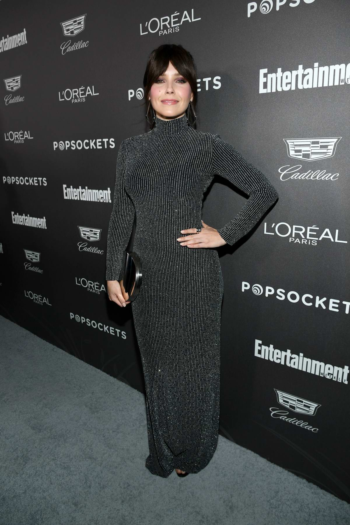 Sophia Bush attends Entertainment Weekly Pre-SAG 2019 Party in Los Angeles