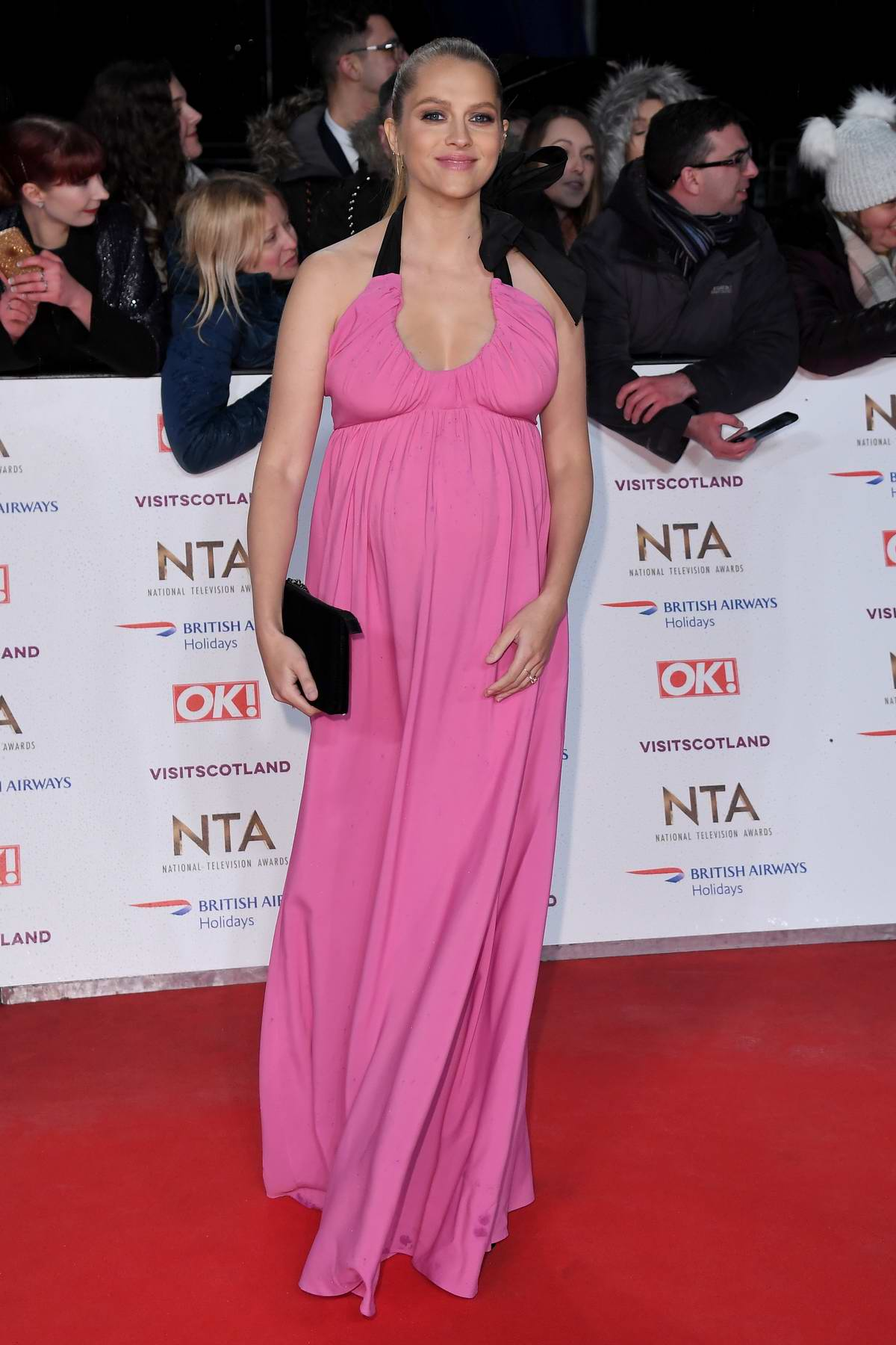 Teresa Palmer attends 23rd National Television Awards in London, UK