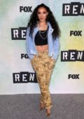 Tinashe attends Fox hosts 'Rent' Press Junket at Fox Studio Lot in Century City, California