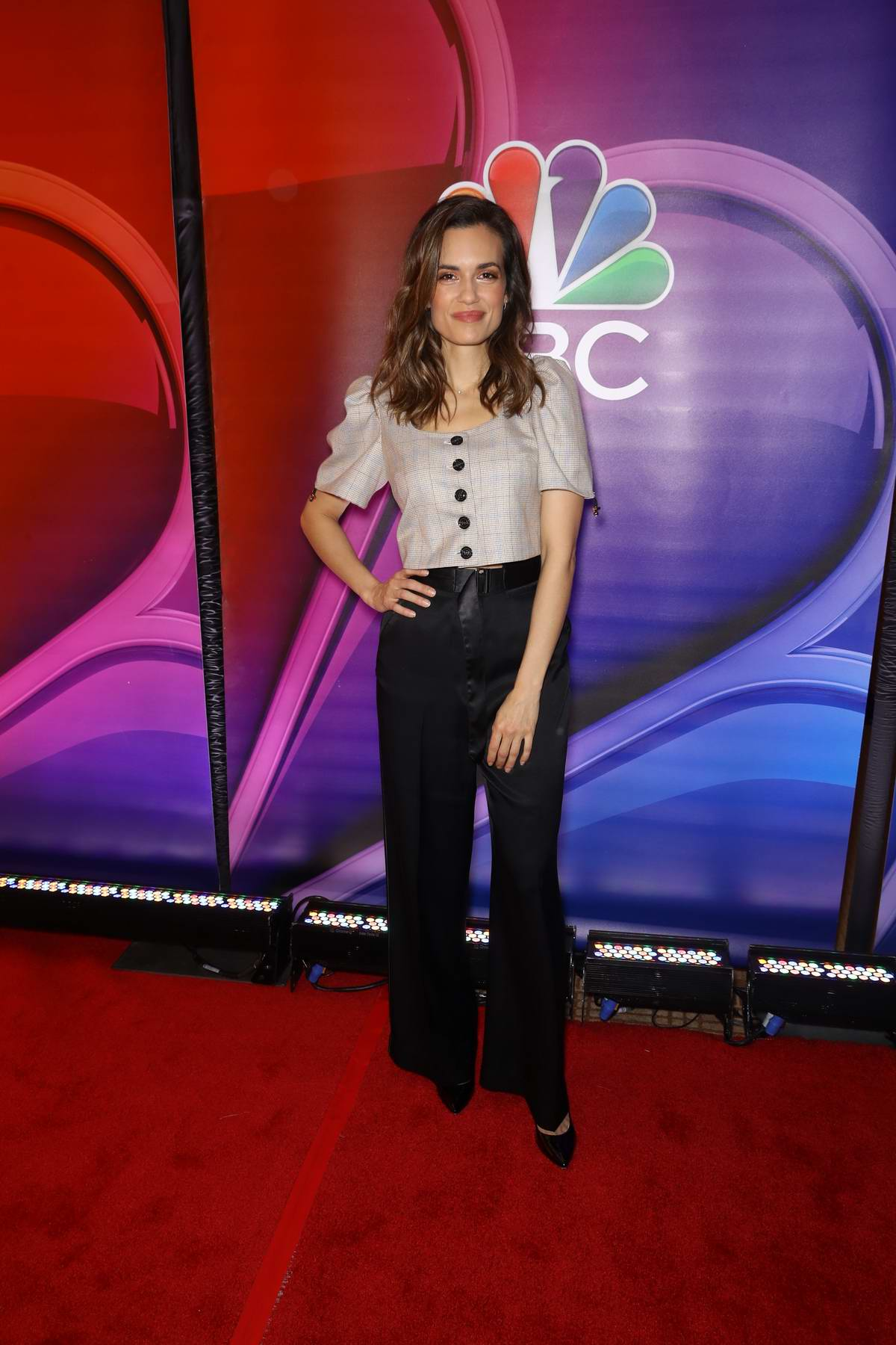 Torrey DeVitto attends the NBC's New York Mid Season Press Junket in New York City