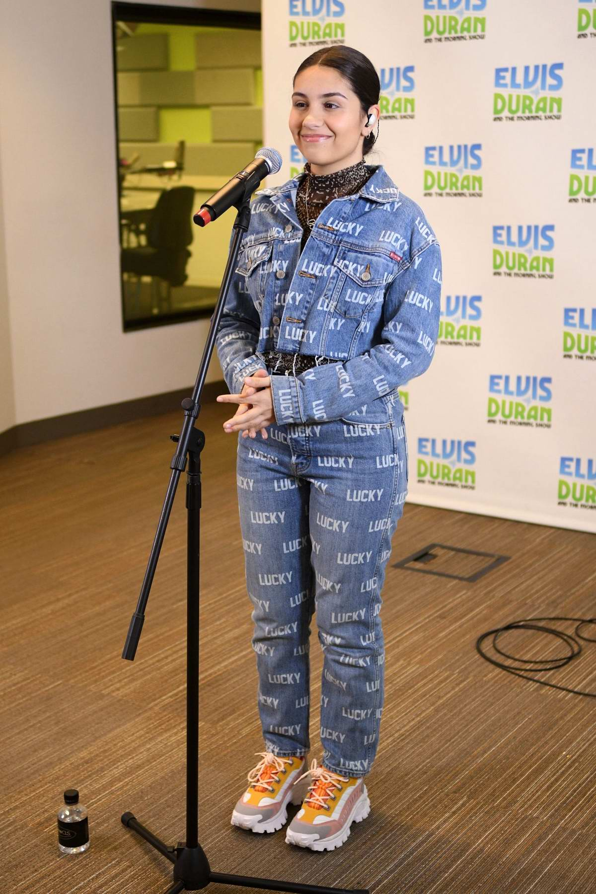 Alessia Cara visits 'The Elvis Duran Z100 Morning Show' at Z100 Studio in New York City