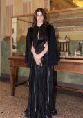 Alexandra Daddario attends testimonial da Genny Milan Women's Fashion Show during Milan Fashion Week in Milan, UK