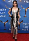 Alison Brie attends the 2019 Writers Guild Awards at The Beverly Hilton Hotel in Beverly Hills, California