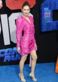 Alison Brie attends The LEGO Movie 2: The Second Part premiere at the Regency Village Theatre in Westwood, California