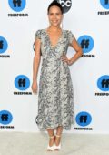 Alyssa Diaz attends the Freeform's TCA Winter Press Tour in Los Angeles