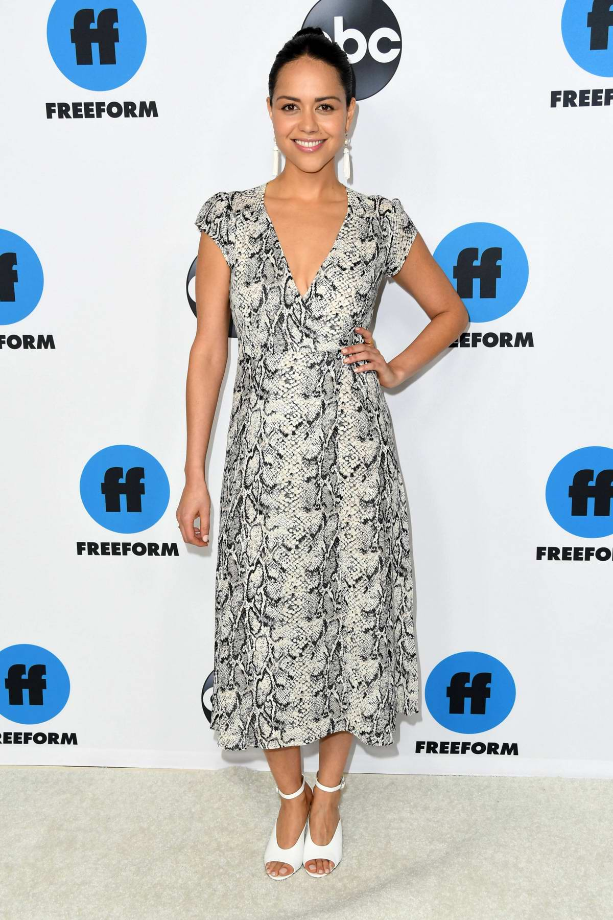 Alyssa Diaz attends the Freeform's TCA Winter Press Tour in Los Angeles