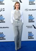 Amanda Seyfried attends the 34th Film Independent Spirit Awards in Santa Monica, California