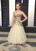 Amanda Seyfried attends the Vanity Fair Oscar Party at Wallis Annenberg Center for the Performing Arts in Beverly Hills, California