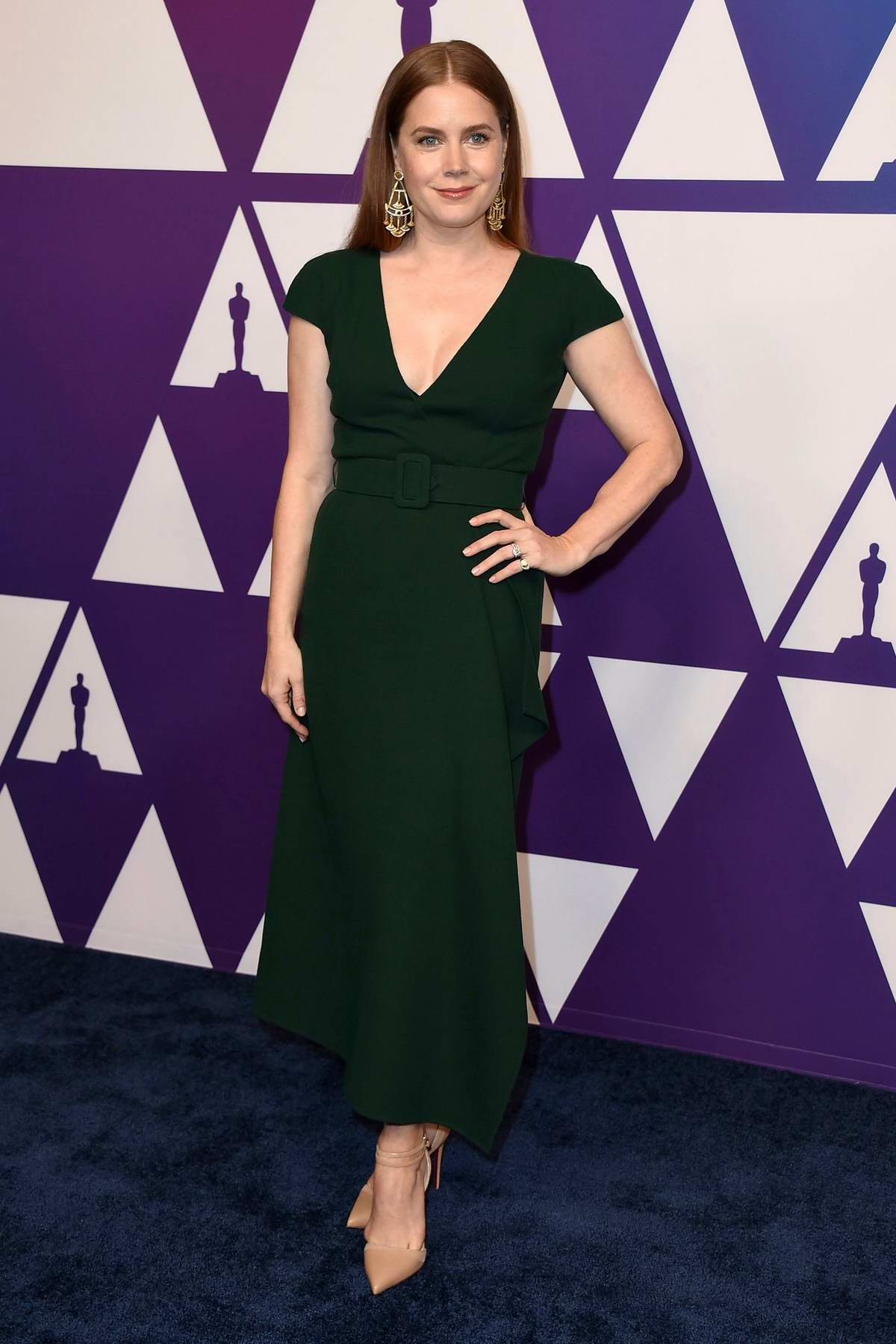 Amy Adams attends the 91st Oscars Nominees Luncheon at The Beverly Hilton Hotel in Beverly Hills, California