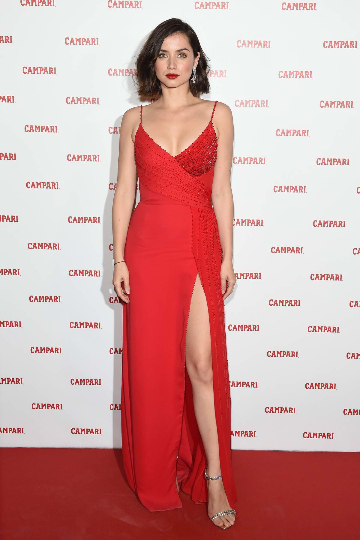 Ana de Armas attends the Campari Red Diaries 2019 Premiere Event in Milan, Italy