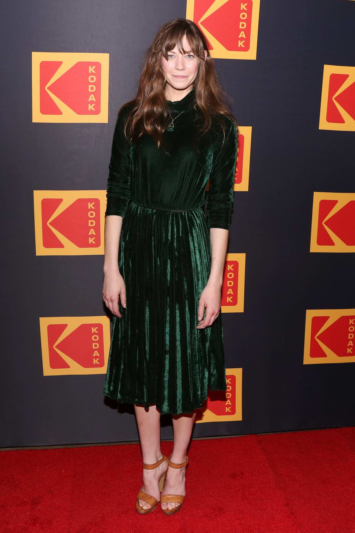 Analeigh Tipton attends the 3rd annual Kodak Awards at Hudson Loft in Los Angeles