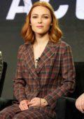 AnnaSophia Robb attends the Hulu Panel during the Winter TCA in Pasadena, California