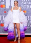 Anne-Marie attends The BRIT Awards 2019 held at The O2 Arena in London, UK