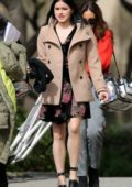 Ariel Winter spotted on the set of Modern Family while filming in Los Angeles